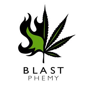 BLASTphemy dispensary logo