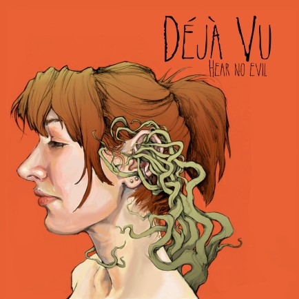 Deja Vu Mock Album Cover I: Hand drawn then digitally colored