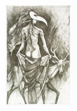 Mi Trova: Intaglio etching
