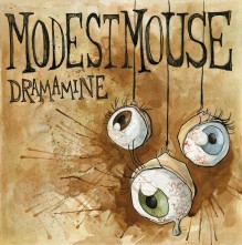 Modest Mouse Mock Cover Dramamine 2: Mock single album cover for Modest Mouse. Watercolor, pen and ink