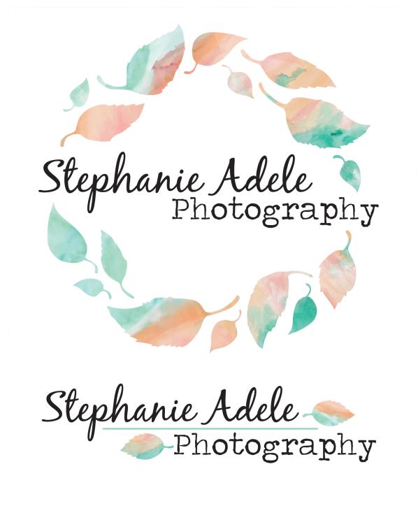 Stephanie Adele Photography logos and branding