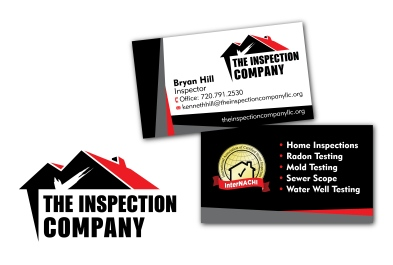 Branding for Bryan Hill and his company the Inspection Company