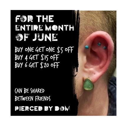 Pierced by Dom Instagram ad