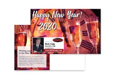 New Year 2020 Pick a Postcard