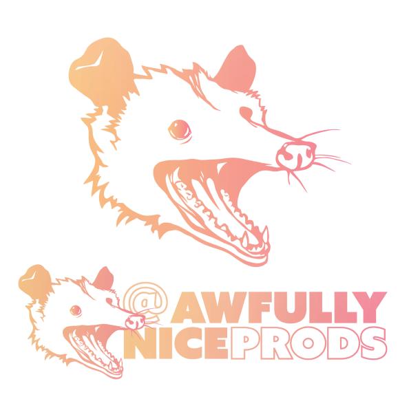 Awfully Nice Productions logo