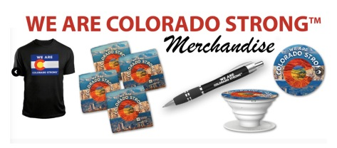 We Are Colorado Strong Merchandise Web Banner